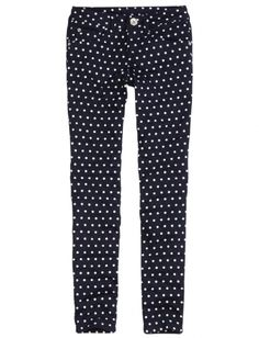 Justice for Girls Printed Super Skinny Jeans
