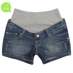 Online Shop Summer maternity pants denim shorts maternity clothing maternity…