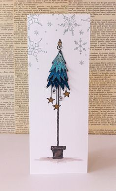 PaperArtsy: NEW Sept 2015 Products: JOFY Collection, # collection . - Drawing Still 2020 Christmas Tree Star, Christmas Art, Handmade Christmas, Homemade Christmas Cards, Homemade Cards, Holiday Cards, Watercolor Christmas Cards, Watercolor Cards, Christmas Crafts