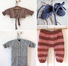 cutest organic knit baby clothes