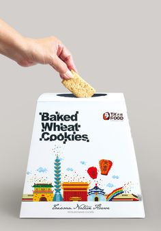 Baked Wheat Cookies by Victor Branding Design Corp (http://www.victad.com.tw/)