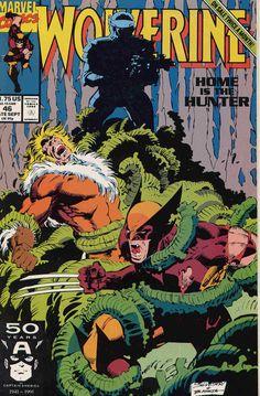 Marc Silvestri cover Wolverine #46