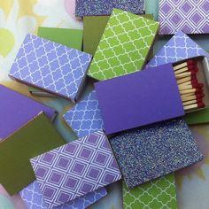 500 Custom Matchboxes  Wedding Favors  Custom Color by ArtZodiac, $410.00