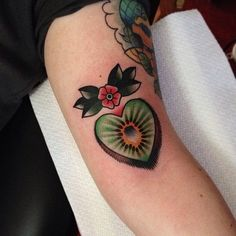 Kiwi fruit tattoo? T