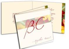 Hochzeitseinladungen+-+Ein+Hauch+von+Blütenzauber... Paper, Yellow Tulips, Invitation Text, Card Wedding