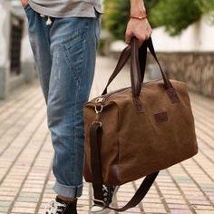Man Bags New 2015 Fashion Men Handbag Canvas Large Capacity Men Messenger Bags Men'S Travel Bags Men'S Briefcase Satchel Bags From Minicon, $35.61  Dhgate.Com