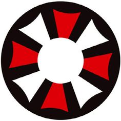 Contact lenses umbrella corporation white, red and black (annuals) > JAPAN ATTITUDE - LENSCR171   Shop : www.japanattitude.fr