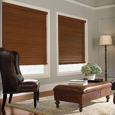 Faux Wood Blinds Wood Blinds And Trim Color On Pinterest