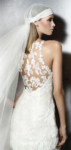 pronovias pladia wedding dresses detailed back designs