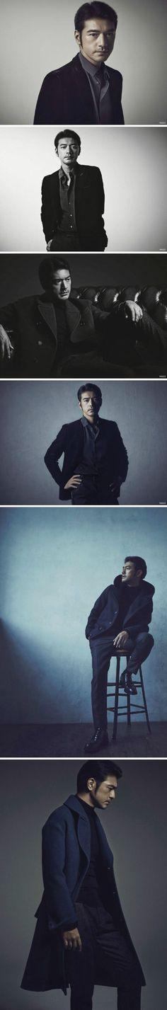 Takeshi Kaneshiro ( 金城武 ) for Vogue Taiwan November 2014