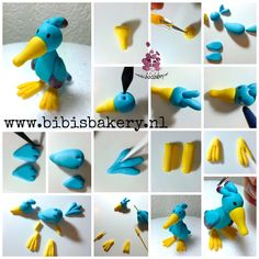 A little birdie told me ... This bird is Bob the Builder's friend and here is the pictorial how to make him yourself. xxx Bibi