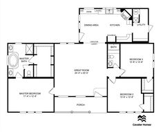 Clayton Homes | Home Floor Plan | Manufactured Homes, Modular Homes, Mobile  Home | Dream Homes | Pinterest | House, Tiny Houses And Cabin