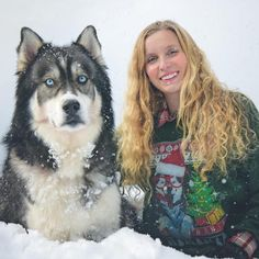 Her Boyfriend Hits Her. When Her Husky Grows Up And Does This? I'm Speechless.