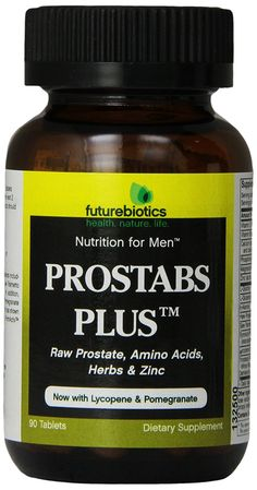 Futurebiotics Prostabs Plus Tablets, 90 Count *** Quickly view this special  product, click the image : Herbal Supplements