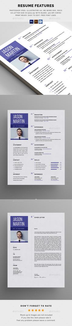 The Resume Stationery, Resume cv and Resume ideas - cleaner resume template