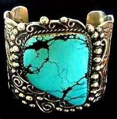 Navajo turquoise jewelry.