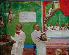 James Ensor (1860–1949) was a major figure in the Belgian avant-garde of the late nineteenth century and an important precursor to the development of Expressionism in the early twentieth. In both respects he has influenced generations of later artists.