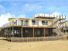 Sandbridge Beach - Oceanfront Vacation Home / Siebert Realty / Virginia Beach, VA  - Bimini Breeze - 3424 Sandfiddler Road