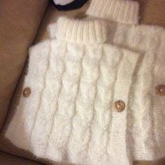 KNITTING PATTERN easy hooded poncho Phoebe x Beginner hooded   Etsy Double Knitting Patterns, Crochet Poncho Patterns, Circular Knitting Needles, Knitting Stitches, Baby Knitting, Vintage Knitting, Baby Poncho, Hooded Poncho, Knitted Poncho