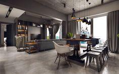 Come Arredare una Sala Da Pranzo in Stile Industriale | kitchen ...