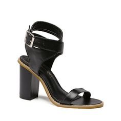 Chunky Heel Cross Strap Sandals #>=#>=#>=#>=#> Click on the pin to check out discount price, color, size, shipping, etc. Save and like it!