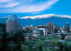Santiago, cordillera de fondo
