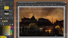 Gimp tutorial on image manipulation. Learn how to change a photo from day time to night time by replacing the sky and adding clouds in GIMP. How to give it a...