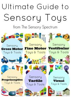 Ultimate Guide to Sensory Toys and Products for Kids   The Sensory Spectrum