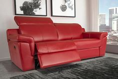 The Elran Collections Enclosed Patio, Decoration, Recliner, Sofas, Love Seat, The Selection, Couch, Contemporary, Leather