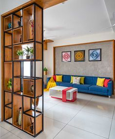 Living Room Partition Design, Room Partition Designs, Wooden Partition Design, Wooden Partitions, Bedroom Furniture Design, Home Decor Furniture, Apartment Interior, Interior Design Living Room, Apartment Living