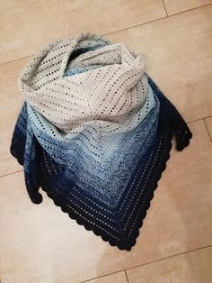 bandorka: Háčkovaný šátek - podrobný popis Crochet Mens Scarf, Crochet Scarves, Crochet Shawl, Shawl Patterns, Sewing, Knitting, Accessories, Dress, Fashion