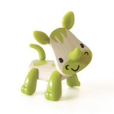 Mini-mals and thousands more of the very best toys at Fat Brain Toys. Mini-mals are adorable. Rubbery plastic features move for a variety of cute poses. Rhino Pictures, Recycled Toys, Hape Toys, Unique Gifts For Kids, Green Toys, Eco Friendly Toys, Building For Kids, Wooden Puzzles, Wood Toys