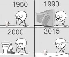 Funny pictures about The evolution of technology. Oh, and cool pics about The evolution of technology. Also, The evolution of technology. Google Glass, Tech Humor, Funny Memes, Jokes, Funniest Memes, Funny Quotes, Human Behavior, Funny Design, Design Humor