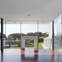Arqui+ Architecture have completed the design of a new house in Vale Do Lobo, Portugal.