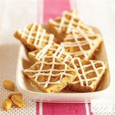 Coconut-Peanut Butter Bars from Jif®