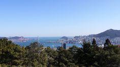 Jungang Park Busan South Korea, Tower, Mountains, Park, Nature, Travel, Rook, Naturaleza, Lathe