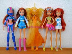 Winx Club - Other Bloom dolls & Daphne