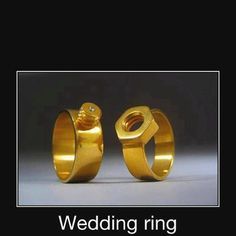 Redneck wedding rings - Keepin' it Real!  LMAO You might be a redneck if...