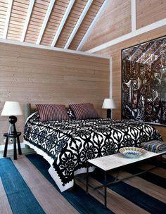 Charmante maison de vacances version cabane, Comporta, Portugal : une chambre volumineuse et très chaleureuse