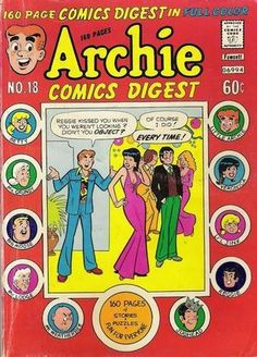 Who doesn't love Archie comics? They are the best bathroom reading material ever! I totally think he should go for Betty!