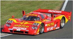 1990 Momo Nissan NPT190 Group C IMSA Silverstone Classic 2009