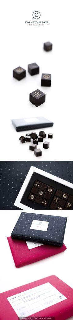 Premium quality chocolate bonbons by: Eszter Laki