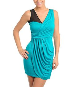 Take a look at this Jade Twist-Front Dress on zulily today!