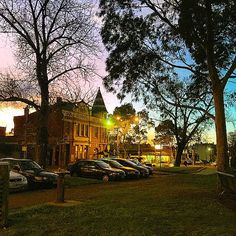 Not quite the shortest day of the year, but still, a very nice early dusk over Hook Media HQ at The Dan this evening Days Of The Year, Dusk, Melbourne, Sunset, Nice, House Styles, Instagram Posts, Sunsets, Nice France