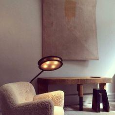 Inside Studio Oliver Gustav in #Copenhagen. Photo courtesy of nychriskann on Instagram.
