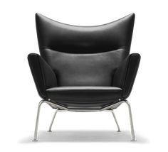 Shop SUITE NY for the Wing Chair designed by Hans J. Wegner for Carl Hansen and Son and more danish design, scandinavian design furniture, mid-century mod Design Furniture, Chair Design, Modern Furniture, Lounge Furniture, Eames, Queen Chair, Danish Design Store, Wing Chair, Cool Chairs