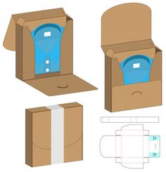 Box Packaging Die Cut Template Design - Box packaging die cut template design Premium Vector You are in the right place about ideas mymap H -