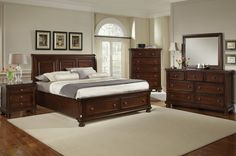 My new bedroom set! Ashley bedroom furniture Porter