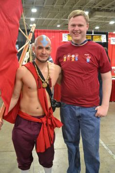 Aang cos-play at Salt Lake Comic Con 2014