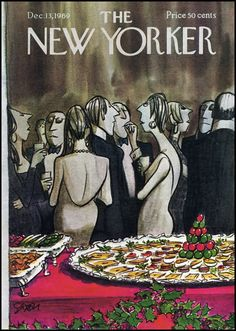 in so many words...: New Yorker Christmas Covers